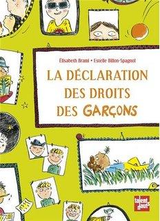Declaration des droits garcons