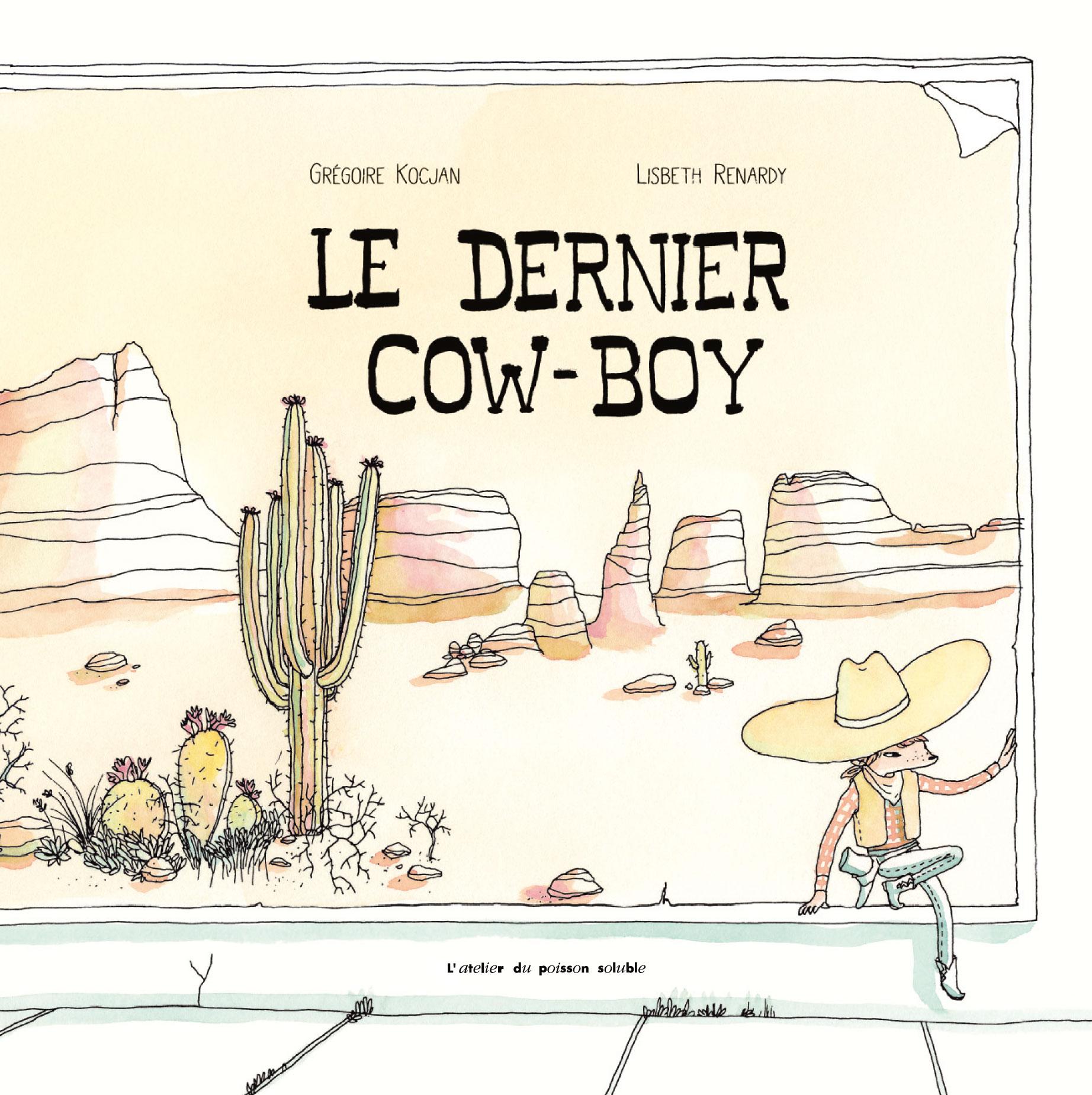 Dernier cow boy couv