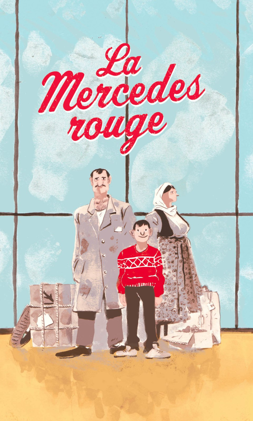 Mercedesrouge