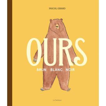 Ours brun blanc noir