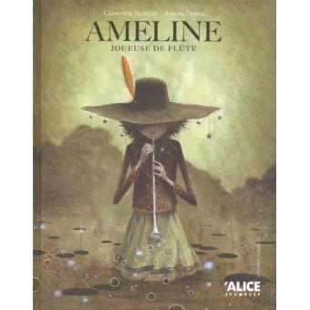 Ameline joueuse de flute