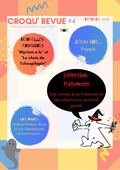 Croqu'revue octobre