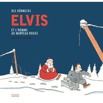 Elvis et l homme au manteau rouge