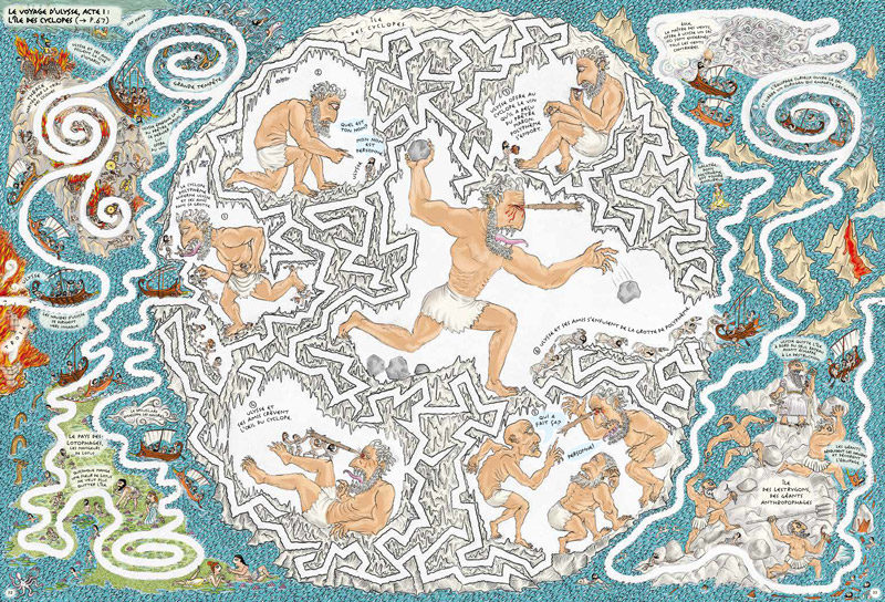Fil dariane labyrinthe