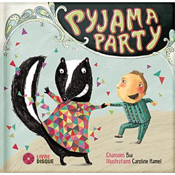 Pyjama party livre disque