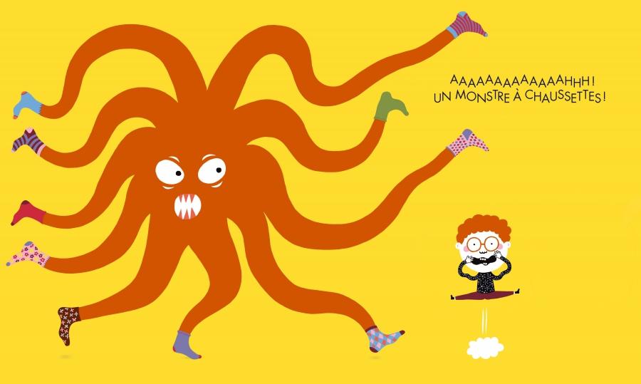 Un monstre a chaussettes page 1